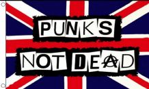 PUNKS NOT DEAD - 3 X 2 FLAG